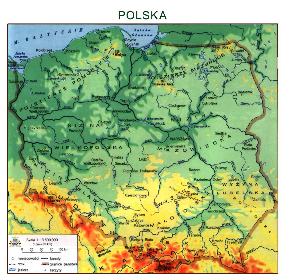 13 Maj U0026quot Mapa Polski U0026quot Przedszkole Nr 10